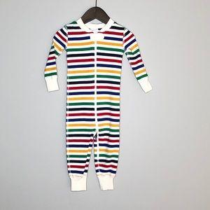 NWT Hanna Andersson sleeper organic cotton stripes